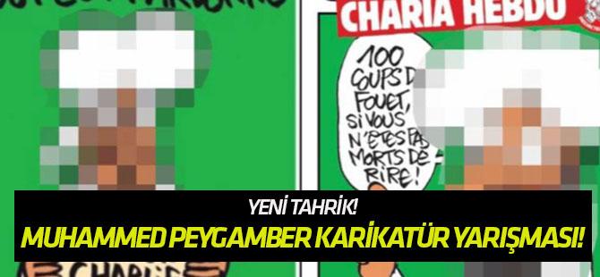 Ödüllü Muhammed Peygamber karikatür yarışması!