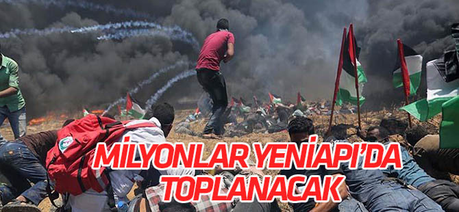 Binlerce kişi Yenikapı'da, zulme ''dur'' diyecek!
