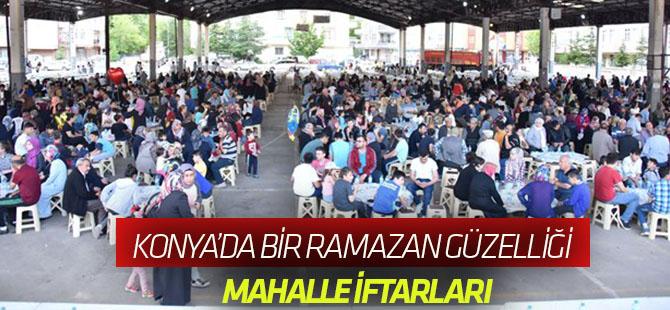 Konya'da Bir Ramazan Güzelliği: Mahalle İftarları