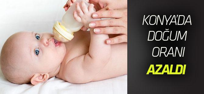 Konya'da canlı doğum sayısı yüzde 2,7 azaldı.