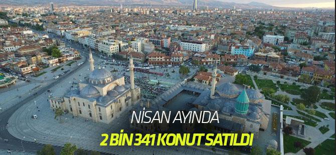 Nisan ayında 2 bin 341 konut satıldı