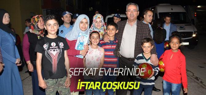 Karatay Belediyesi Şefkat evlerinde iftar coşkusu yaşandı