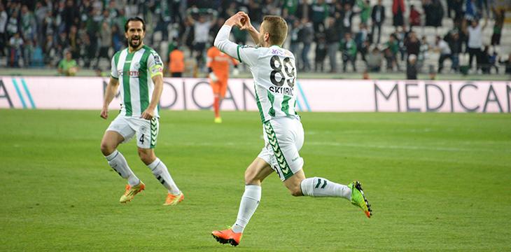 Konyaspor Skubic'le sözleşme yeniledi