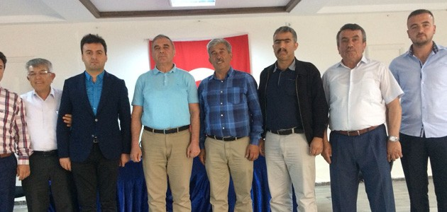 Akören İHL Yurdu Derneği başkanlığına Ersöz seçildi