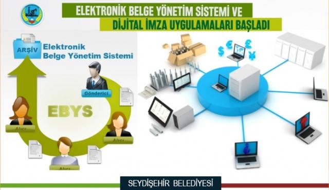 Seydişehir Belediyesi E-İmza Uygulamasına Geçti