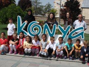 Yavaşlı ilkokulu öğrencileri Konya'yı gezdi