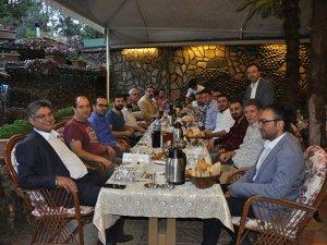 Mali Müşavir Abdil Erdal, basınla buluştu