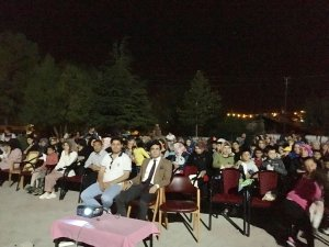 """Karakeçili'de """"Açık Hava Sineması"""" etkinliği"""