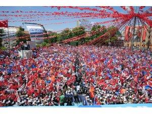 AK Parti'nin Eskişehir mitingi