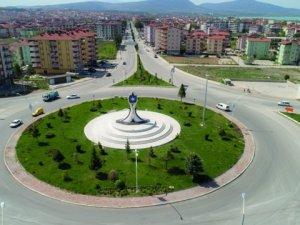 Beyşehir'in sembol anıtı tamamlandı