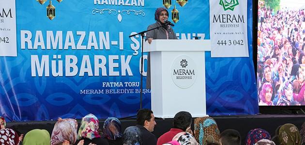 Meram'da Ramazan bereketi