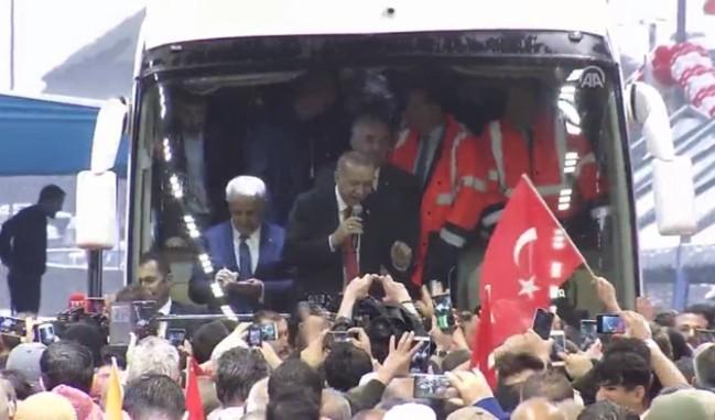 Erdoğan Ovit Tüneli'nin açılışını yaptı!