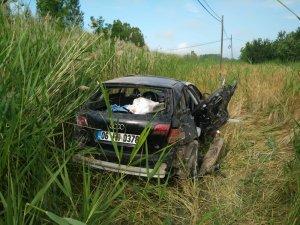 Konya'da otomobil uçuruma yuvarlandı: 8 yaralı