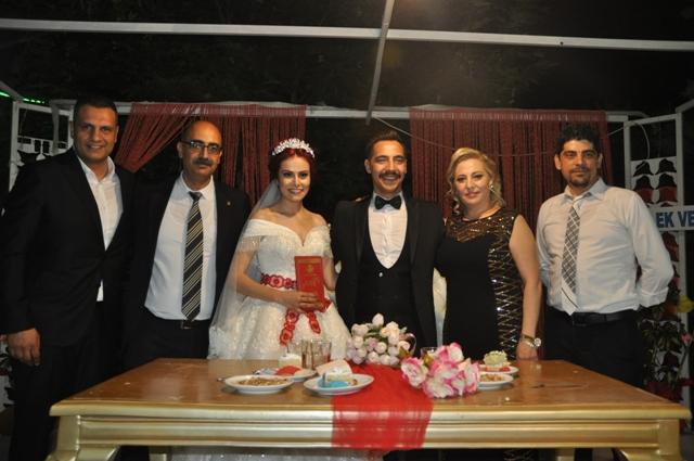 Sıdıka ile Fuat Metehan'in mutlu günü