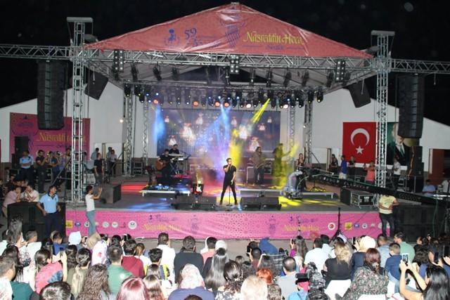 İlyas Yalçıntaş'la Akşehir'de romantik gece