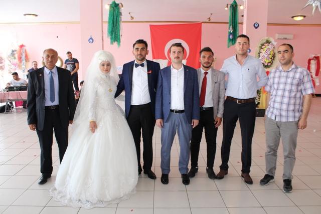 Kaymakam Cıdıroğlu, terör gazisinin düğününe katıldı