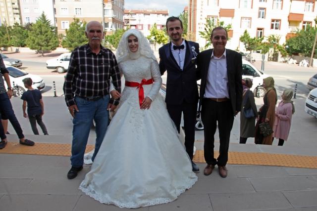 Fatıma Nur ile Mevlüt mutluluğa imza attılar