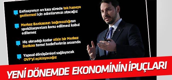 Albayrak, yeni dönemde ekonomi politikasının ipuçlarını açıkladı