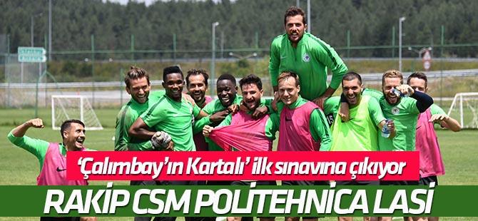 Konyaspor, CSM Politehnica Lasi ile özel maç yapacak