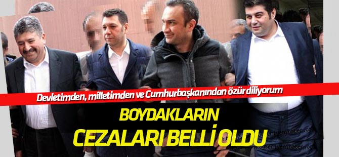 Eski Boydak Holding yöneticilerinin cezaları belli oldu