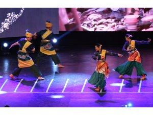 """""""Uluslararası Altın Karagöz Halk Dansları Yarışması""""nda final gecesi"""