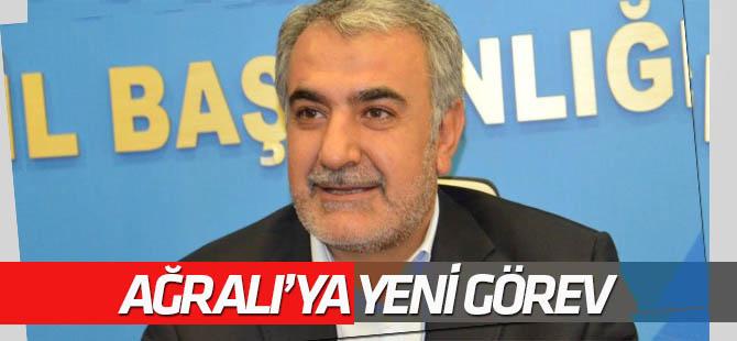 Abdullah Ağralı AK Parti Grup Yönetim Kuruluna seçildi
