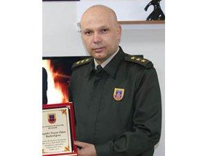 Beyşehir İlçe Jandarma Komutanı Urlu, ilçeye veda ediyor