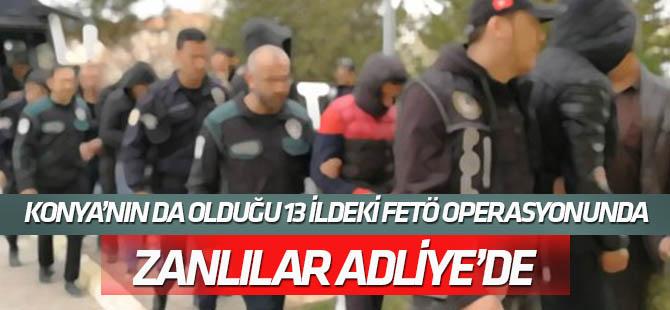 """13 İlde FETÖ'nün """"subay mahrem yapılanması"""" operasyonu"""