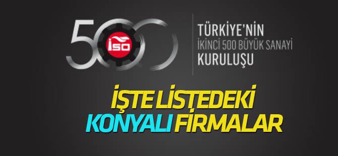"""İSO """"Türkiye'nin İkinci 500 Büyük Sanayi Kuruluşu 2017 """" (TÜM LİSTE)"""