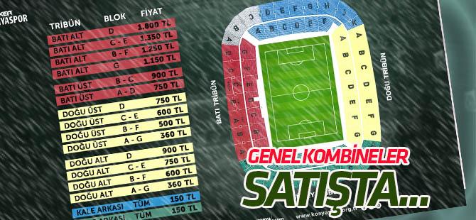 Konyaspor'da genel kombine kartları satışa çıktı