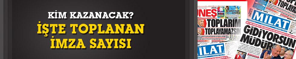 CHP'de toplanan imza sayısı 350'yi geçti