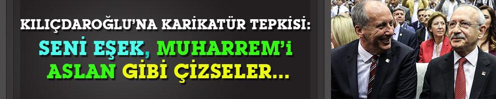 Kılıçdaroğlu'na karikatür tepkisi: Seni eşek, Muharrem'i aslan gibi çizseler...