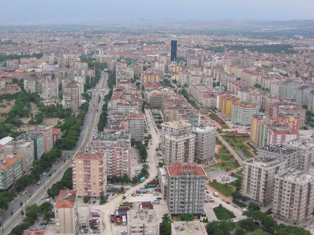 Konya'da Haziran'da 2 bin 843 konut satıldı