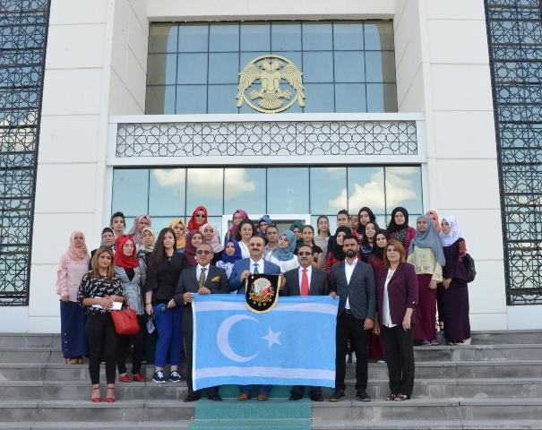 Türkmen Öğrencilerden Selçuk Üniversitesi'ne Ziyaret