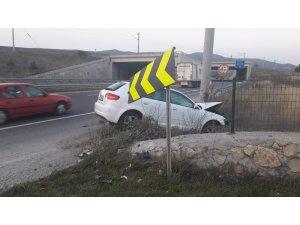 Bilecik'teki 2 kazada 2 kişi yaralandı