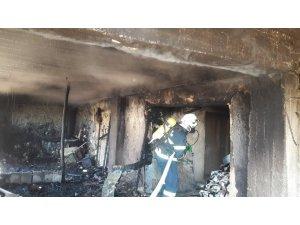 Depo yangını paniğe neden oldu
