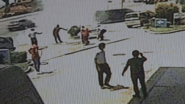 Konya'da LPG'li otomobil akaryakıt istasyonunda alev aldı