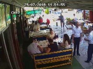 Konya'da ölümle sonuçlanan gürültü kavgası kamerada