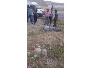 Ağrı'da kaza: 1 ölü, 2 yaralı
