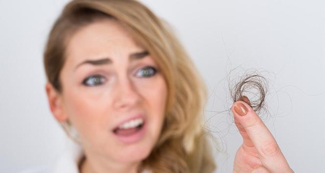 Vitamin eksikliği saçları döküyor