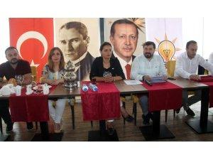 AK Parti İl Başkanı, CHP'li belediyenin yerine getirmediği vaatleri hatırlattı