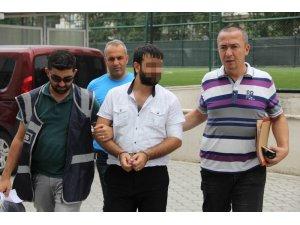 Samsun'da silahla yaralama şüphelisi adliyede