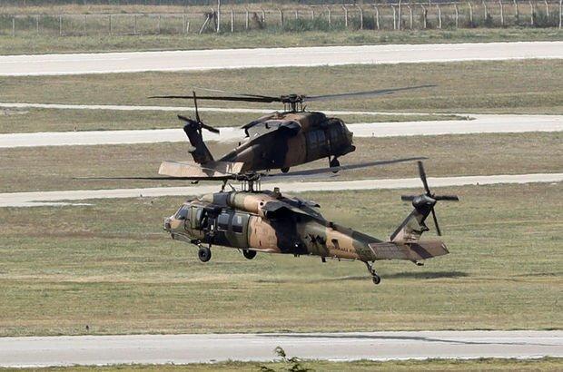 Ankara'daki Kara Havacılık Okulu'ndaki araçlar Isparta'ya gidiyor