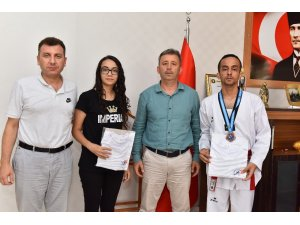Osmaniyeli Furkan Duran tekvandoda Türkiye üçüncüsü oldu