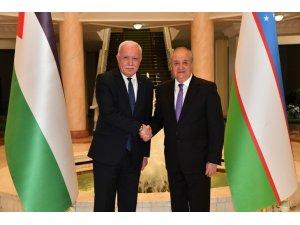 """Özbekistan Dışişleri Bakanı Kamilov: """"Filistin halkıyla dayanışma içindeyiz"""""""