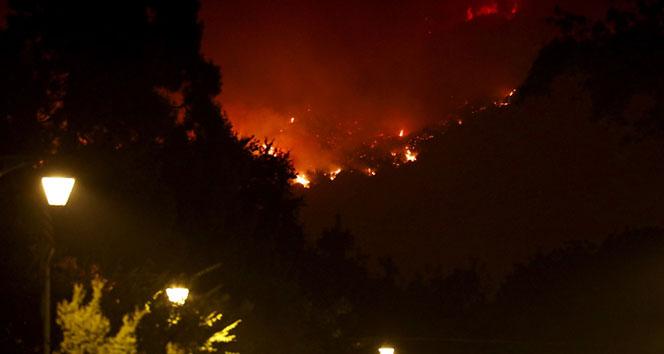 Kaliforniya'daki yangın 6 gündür söndürülemiyor