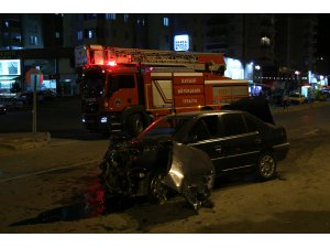 Kayseri'de trafik kazası: 3 yaralı