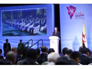 Bakan Çavuşoğlu, Japonya ve İran dışişleri bakanlarıyla görüştü