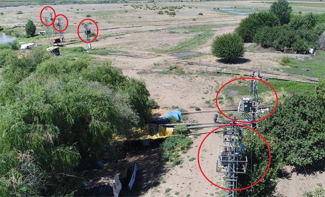 Kaçak elektrik kullanımı drone ile havadan tespit ediliyor