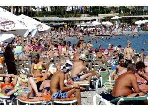 Kemer'de oteller yüzde 100'lük doluluk oranına ulaşıyor